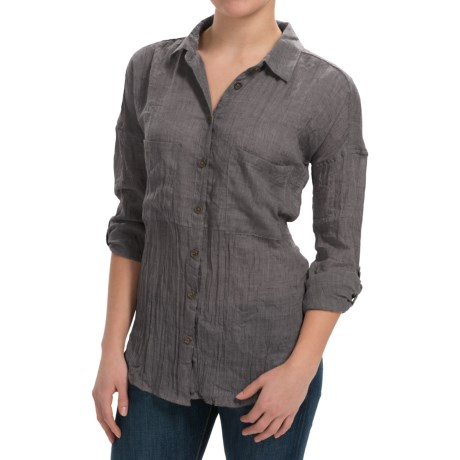 dylan Flyaway Split-Back Shirt - Long Sleeve (For Women)