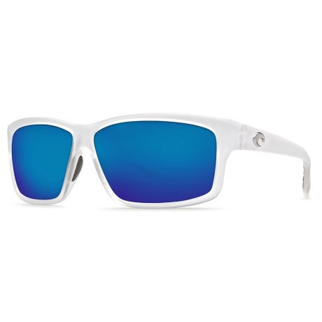 Costa Cut Sunglasses - Polarized 400G Glass Mirror Lenses