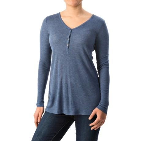 G.H. Bass & Co. Harper Waffle Shirt - Long Sleeve (For Women)