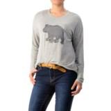 G.H. Bass & Co. Tabitha Bear Sweatshirt - Crew Neck (For Women)