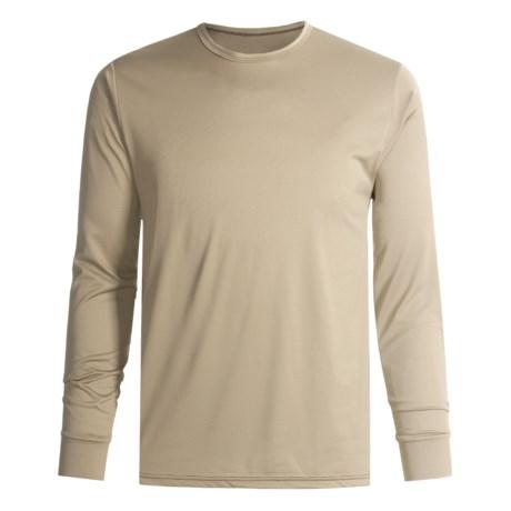 Wickers Long Underwear Shirt - Comfortrel®, Moisture-Wicking, Long Sleeve (For Tall Men)