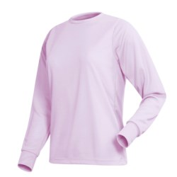 Wickers Long Underwear Top - Comfortrel® Polyester, Lightweight (For Women)