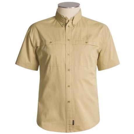 Le Chameau Cardiff Shirt - Short Sleeve (For Men)
