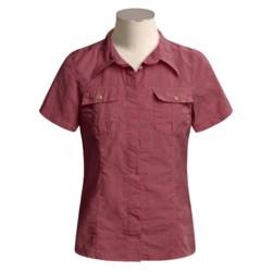 Gramicci Tikal Trekker Shirt - Short Sleeve (For Women)