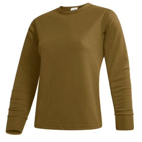 Wickers  Long Underwear Top - Midweight Comfortrel®, Long Sleeve (For Women)