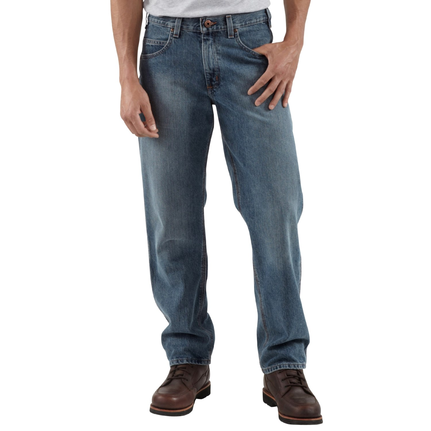 carhartt relaxed fit jeans for men 1216r