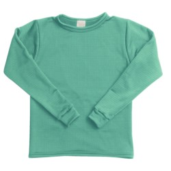 Wickers Long Underwear Shirt - Midweight, Moisture-Wicking, Long Sleeve (For Little and Big Kids)