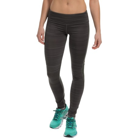 Steve Madden Space-Dyed Color-Block Run Tights (For Women)