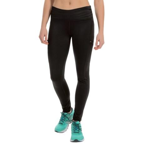 Steve Madden Zip Pocket Run Tights (For Women)