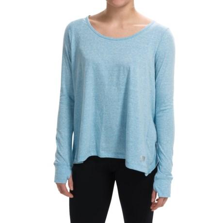 Steve Madden Back-Wrap T-Shirt - Long Sleeve (For Women)