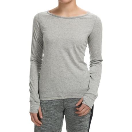Steve Madden Double Cutout T-Shirt - Long Sleeve (For Women)
