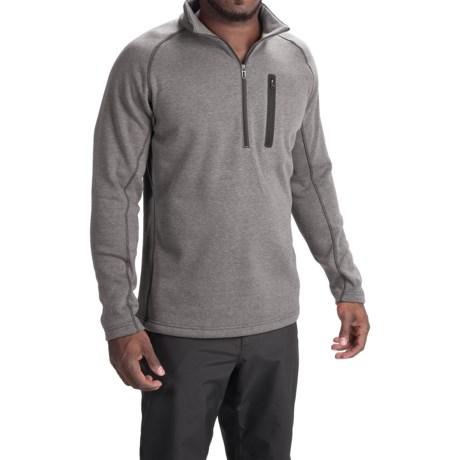 Obermeyer Swift Luxury Fleece Shirt - Zip Neck, Long Sleeve (For Men)