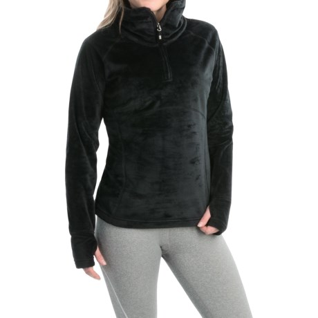 Obermeyer Brandi Fleece Shirt - Zip Neck (For Women)