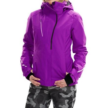Obermeyer Zermatt Ski Jacket - Waterproof, Insulated (For Women) in Freesia - Closeouts