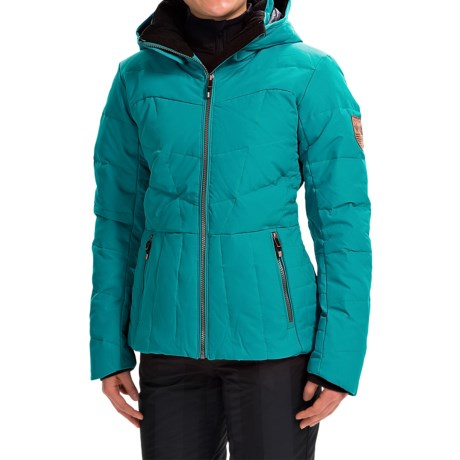 Obermeyer Cascade Down Ski Jacket - 480 Fill Power (For Women)