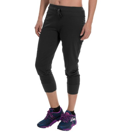 90 Degree by Reflex French Terry Capri Joggers (For Women)