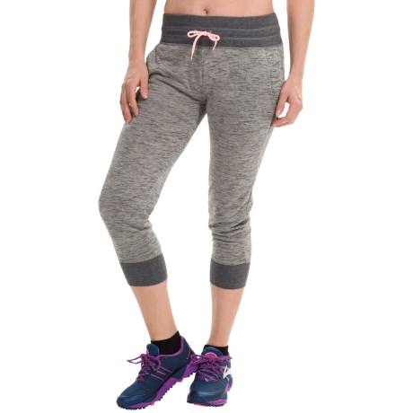 90 Degree by Reflex Sweat Capri Joggers (For Women)