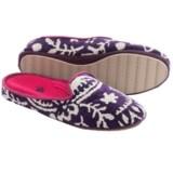 Acorn Novella Scuff Slippers - Cotton (For Women)