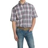 Roper Red Rock Western Shirt - Short Sleeve (For Men and Big Men)
