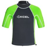 Xcel Axis 1/0.05mm Rash Guard - Short Sleeve (For Big Kids)