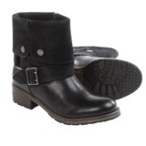Clarks Volara Sky Cuff Boots - Leather (For Women)