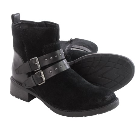 Clarks Swansea Grove Ankle Boots - Suede (For Women)
