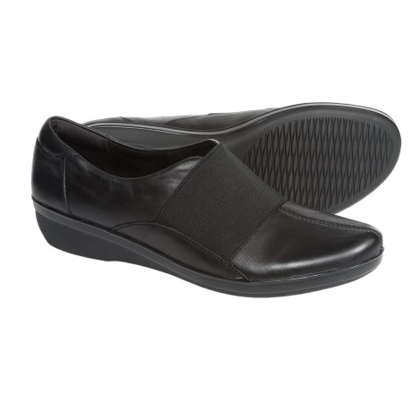 Clarks Foxvale Spell Shoes - Leather, Slip-Ons (For Women)