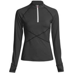 Skirt Sports Tough Girl Shirt- Long Sleeve (For Women)
