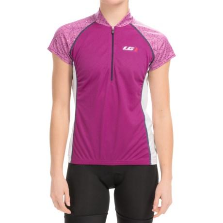Louis Garneau Astoria 2 Cycling Jersey - UPF 30, Zip Neck, Short Sleeve (For Women)