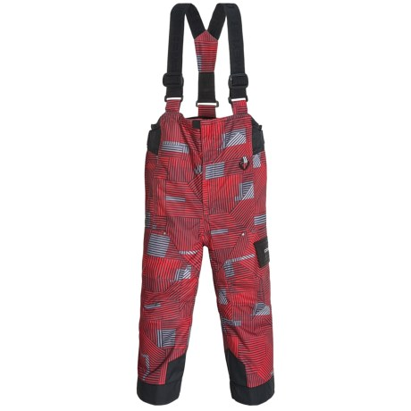 Obermeyer Volt Print Snow Bibs - Insulated (For Toddlers and Little Boys)