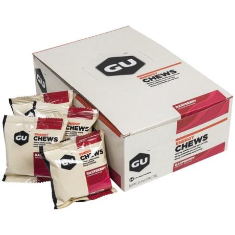 GU Energy Chews - 24-Pack