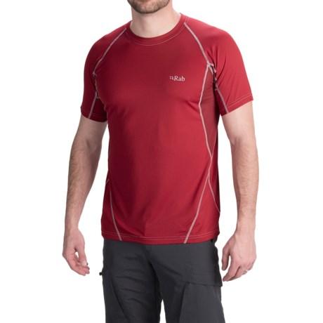 Rab Confluent T-Shirt - UPF 15+, Short Sleeve (For Men)