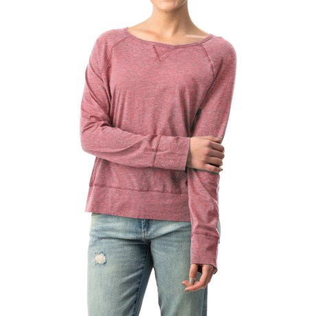 dylan Haze Raglan Shirt - Organic Cotton, Long Sleeve (For Women)