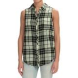 dylan Outpost Slit-Back Shirt - Sleeveless (For Women)