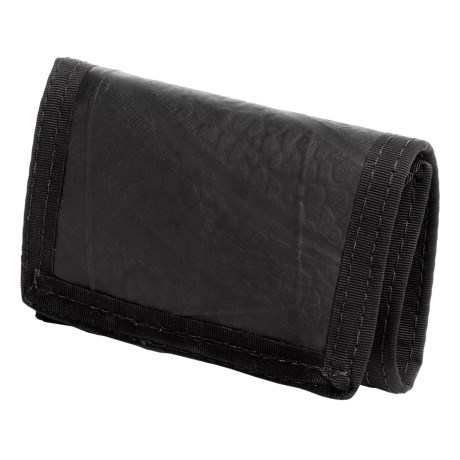 Green Guru Tri-Fold Wallet - Recycled Bike Tubes