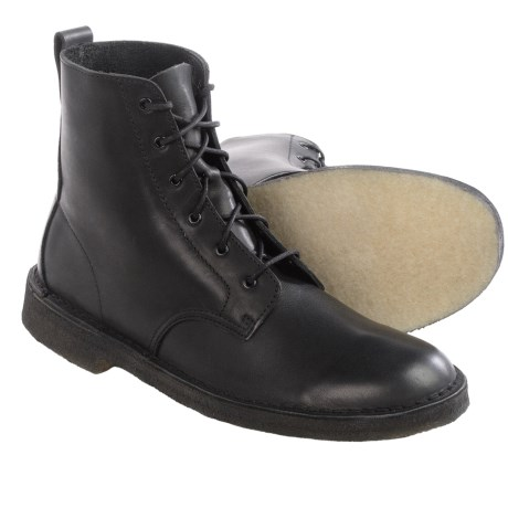 Clarks Desert Mali Leather Boots - Lace-Ups (For Men)
