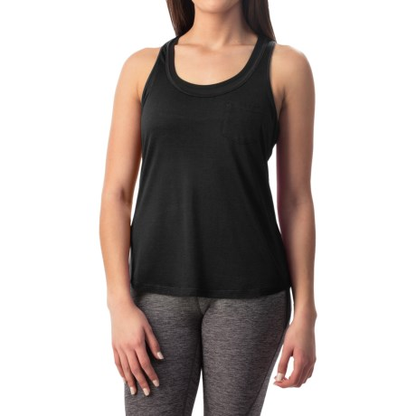 Apana Pocket Tank Top - Racerback (For Women)