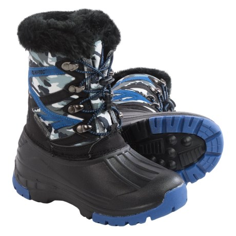 Hi-Tec Avalanche Jr. Winter Pac Boots - Waterproof, Insulated (For Toddlers)