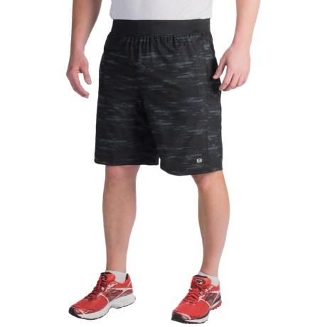 Layer 8 Printed Woven Shorts (For Men)