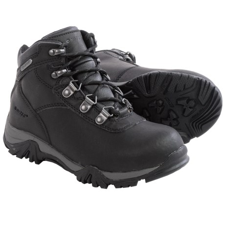 Hi-Tec Altitude V Jr. Hiking Boots - Waterproof, Leather (For Toddlers)