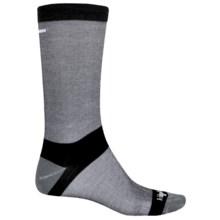 Bridgedale CoolMax® Classic Liner Boot Socks - Crew (For Men) in Grey Heather - 2nds