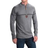 Obermeyer Zurich Sweater - Zip Neck (For Men)