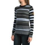 Obermeyer Fiona Stripe Sweater - Merino Wool Blend (For Women)