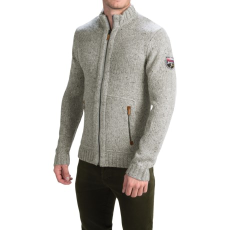 Obermeyer Telluride Cardigan Sweater - Full Zip (For Men)