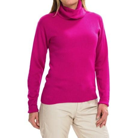 Obermeyer Ski Turtleneck Sweater - Merino Wool Blend, Long Sleeve (For Women)