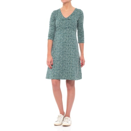 Toad&Co Rosalinda Dress - Organic Cotton-TENCEL®, 3/4 Sleeve (For Women)