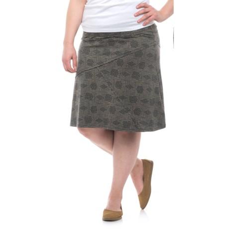 Toad&Co Oblique Skirt - Organic Cotton-TENCEL®(For Women)