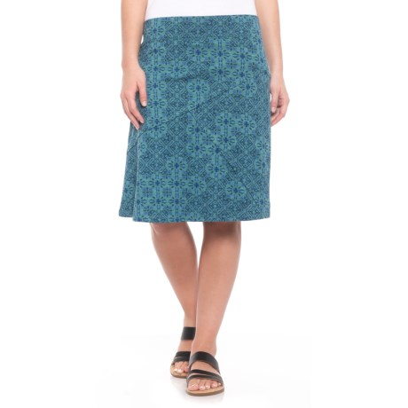 Toad&Co Oblique Skirt - Organic Cotton-TENCEL®(For Women)