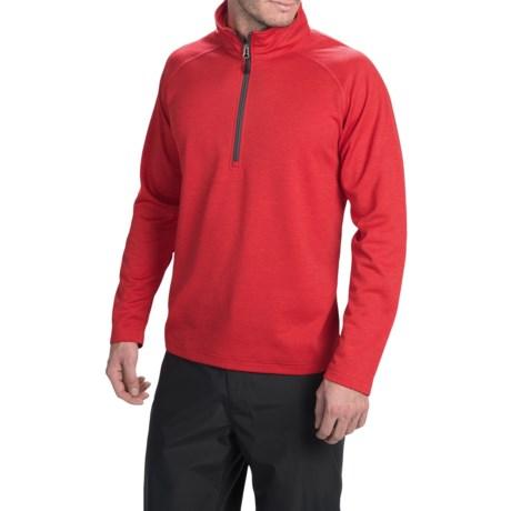 Boulder Gear Microfleece Pullover Shirt - Level II, Zip Neck, Long Sleeve (For Men)