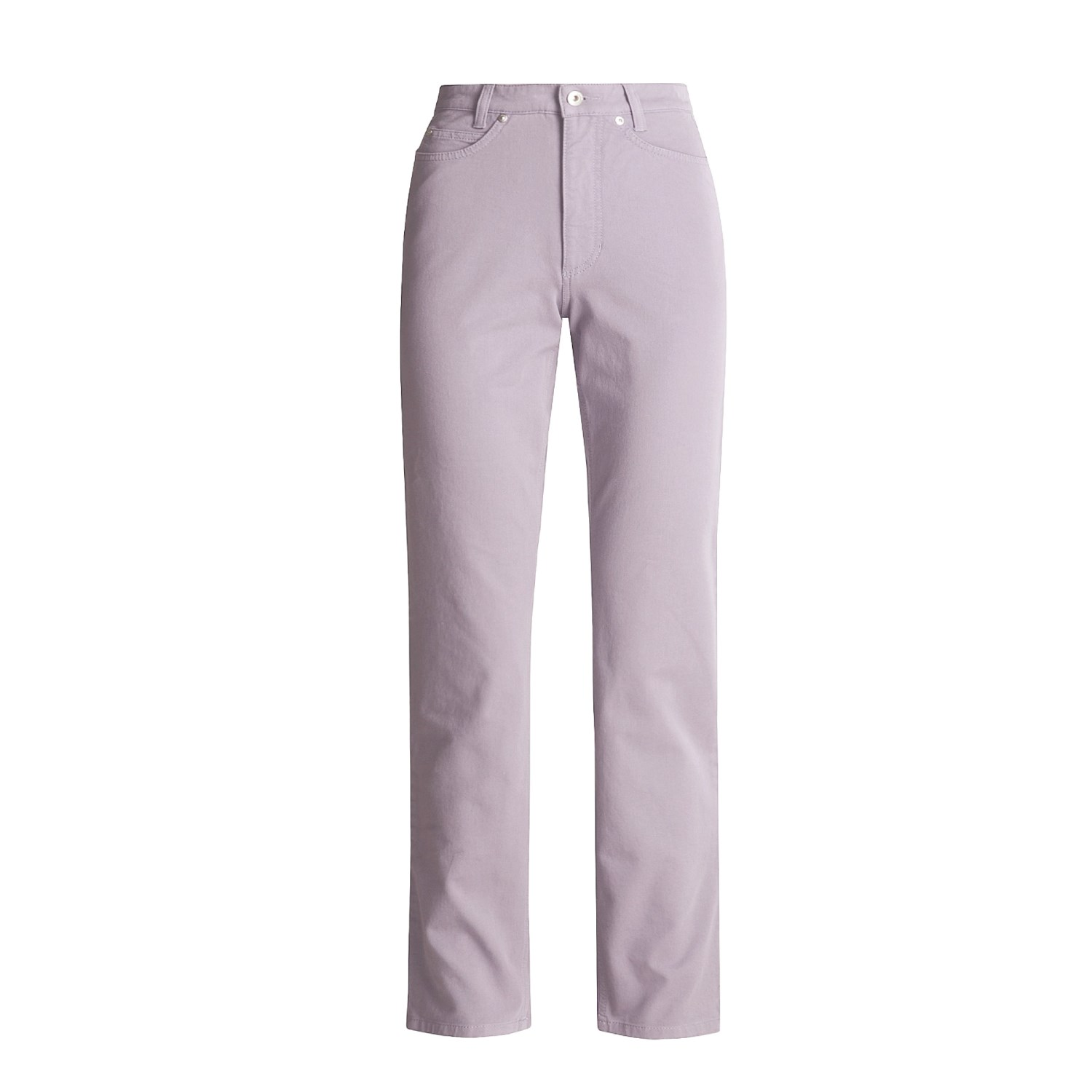 Cool  Dourada Pants  Cotton Twill Straight Leg For Women In Oat Seed